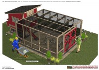 L100 - Chicken Coop Plans Construction - Chicken Coop Design - How To Build A Chicken Coop_03