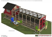 L102 - Chicken Coop Plans Construction - Chicken Coop Design - How To Build A Chicken Coop_03