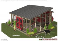 L104 - Chicken Coop Plans Construction - Chicken Coop Design - How To Build A Chicken Coop_02